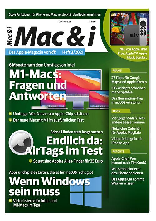 Mac & i Miniabo Heft